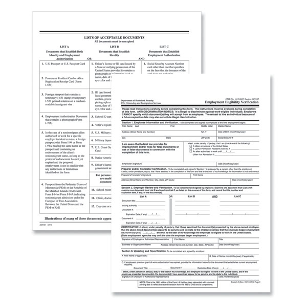 HR & Personnel Forms