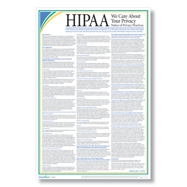 graphic regarding Free Printable Hipaa Forms known as Compliance Providers