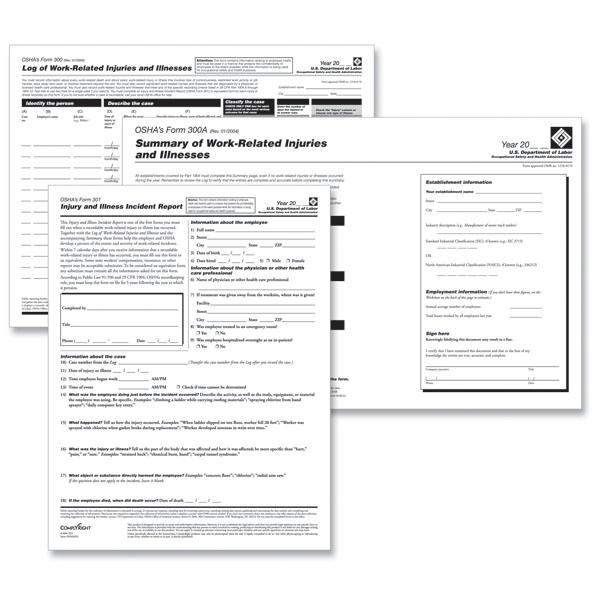 OSHA Solutions – Osha 300 Form